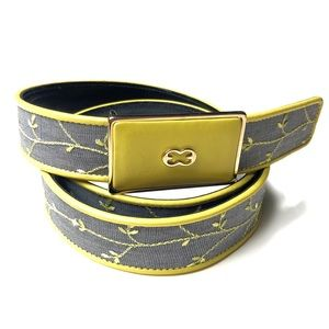 Escada Embroidered Woven Belt